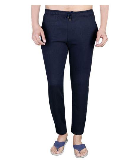 comfort wear glanz comfort wear blue fleece trackpants buy glanz