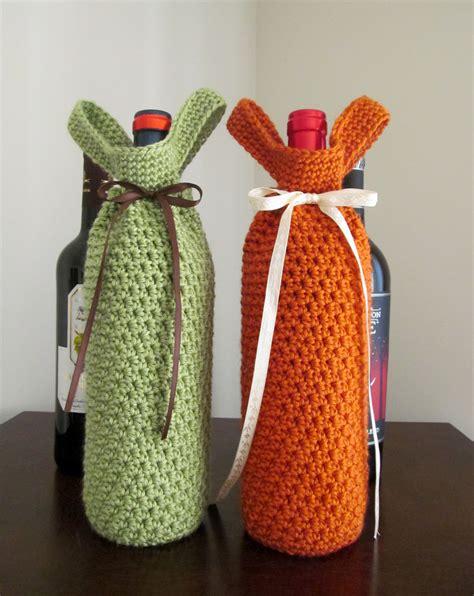 crochet pattern wine bottle bag crochet pattern wine tote permission to sell finished