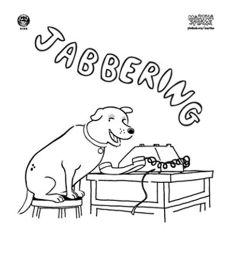 martha speaks coloring book pages from pbs