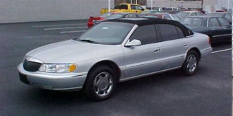 1999 lincoln continental problems 1998 lincoln continental used car pricing financing and