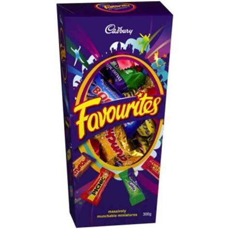 Cadbury Favorites cadbury favourites 320g box chocolates chocolate