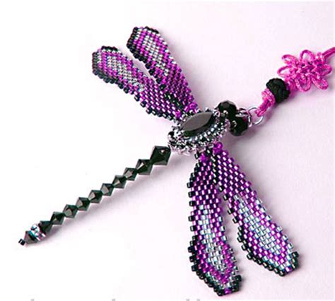 bead dragonfly pattern seed free patterns