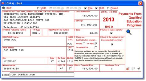 irs section 6050w account abilitys 1099 q user interface payments from