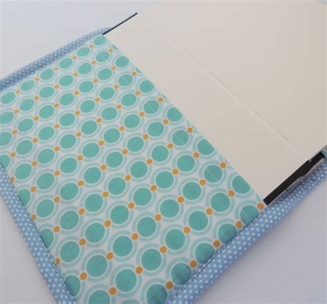 quilted sketchbook cover journal quilted textile blues selvedges scrapbook