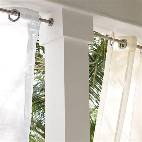 indoor outdoor curtain rods indoor outdoor tension rods screw tension mount rust