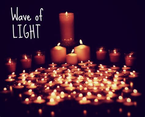 Wave Of Light by Candle On The Road To Crunchy