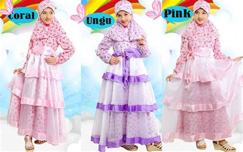Gamis Dannis Muslim Fashion Trendy