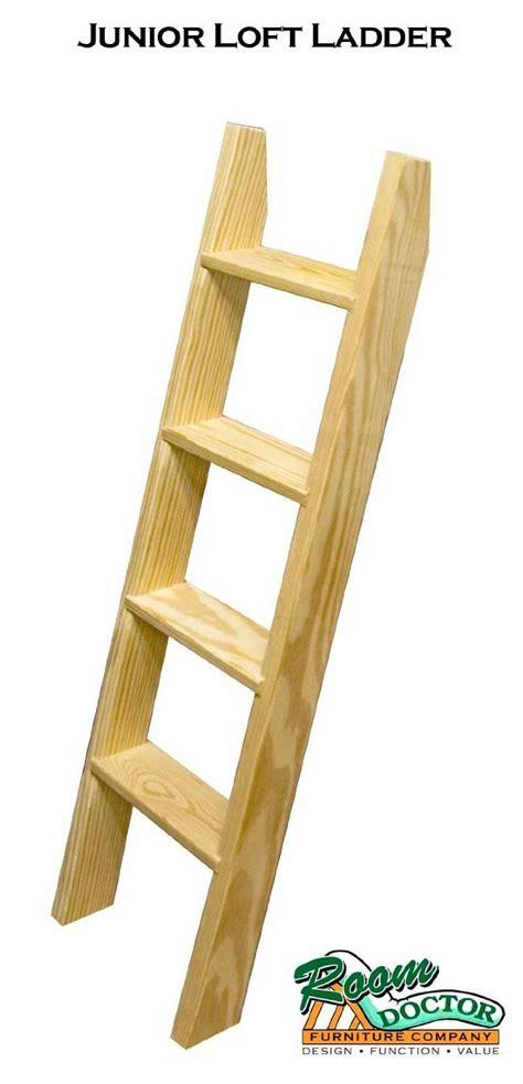 wood bunk bed ladder only amazon com junior loft ladder loft beds woodworking