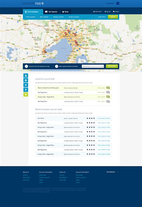 Location Find Free Website Template Find Website Template