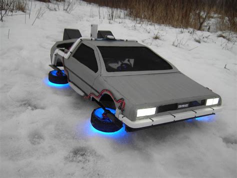 delorean rc car flying time machine from the quot back to the future