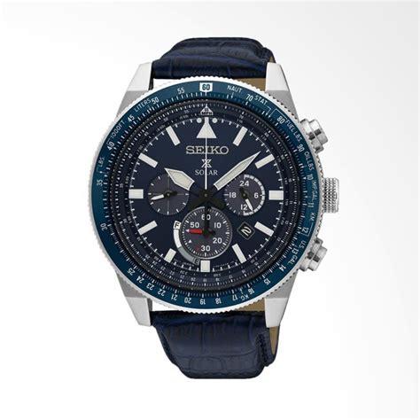 Jam Tangan Pria Seiko Solar Sne077 jual seiko prospex sky solar chronograph jam tangan pria