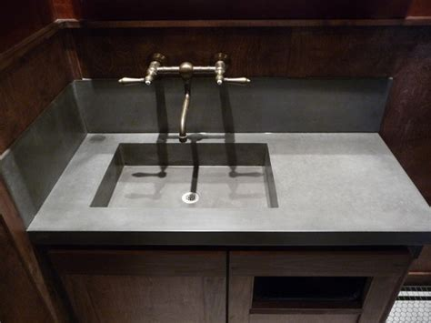 garage bathroom the quot garage quot bar concrete sink modern bathroom salt