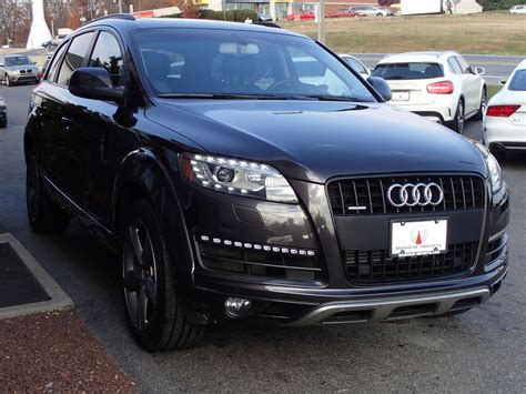 audi q7 pre owned pre owned 2015 audi q7 3 0t premium plus offroad package