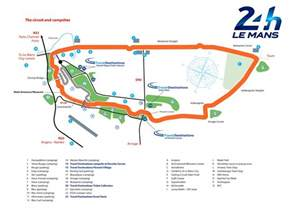 Le Mans Bugatti Circuit Map 24 Hours Of Le Mans Preview 187 The Typewriter