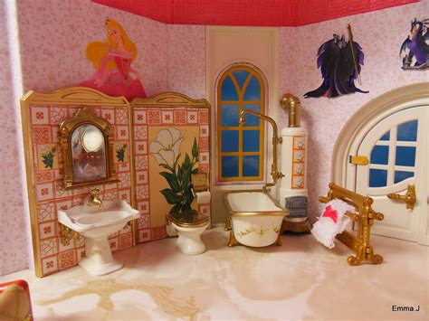 sleeping beauty bedroom disney hotel by emma j playmobil collectors club