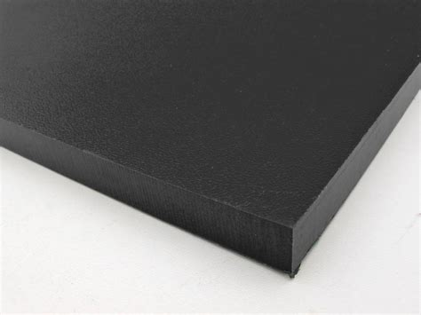 hdpe sheet recycled plastic black 12mm thick trade