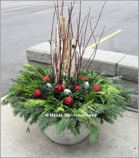 Outdoor Planter Arrangements by 624 Best Images About Winter Containers On