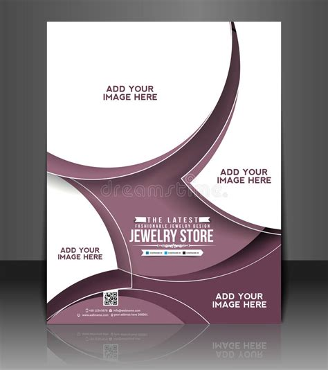 Jewelry Store Flyer Design Stock Vector Illustration Of Card 40800145 Royalty Free Flyer Templates