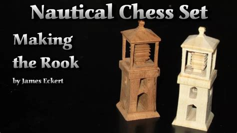 how to make a macgyver style chess set using just nuts nautical chess set making the rook youtube