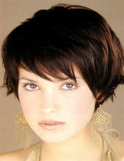 easy short hairstyles for round face 10 short hairstyles for round faces