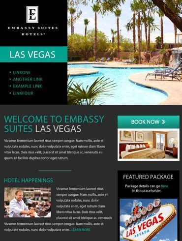 design inspiration las vegas hotel newsletter email design embassy suites las vegas
