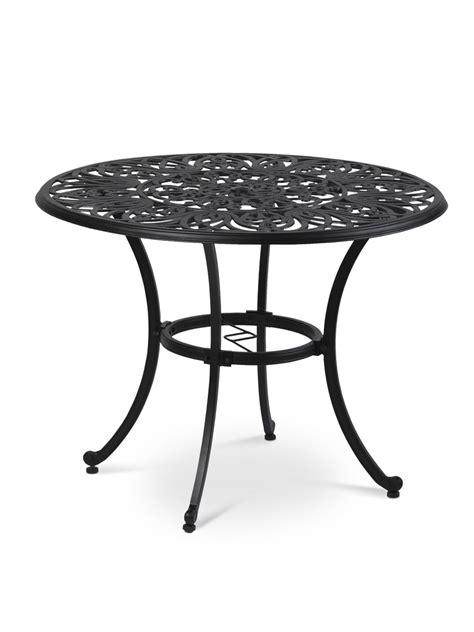 32 inch tulip table outdoor bistro table 40 inch black metal bistro table