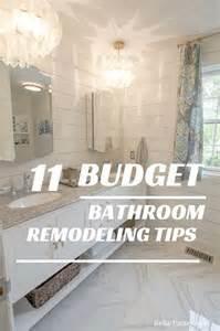 bathroom improvements ideas best 25 budget bathroom remodel ideas on