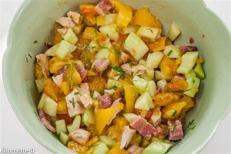 tomates cuisin馥s salade de dinde poitrine concombre et tomates par