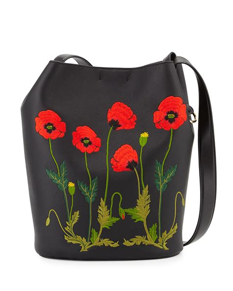 Embroidered Bag stella mccartney embroidered faux leather bag in