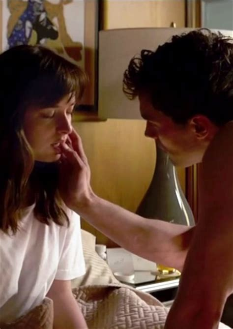 does dakota johnson shave her pubic hair 50 shades of grey about money power as much as sex in new
