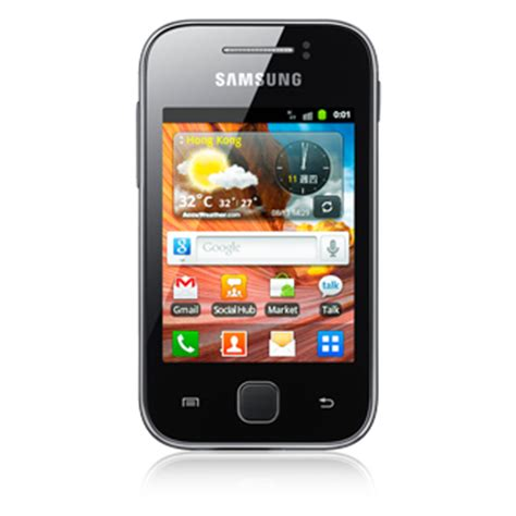 Handphone Samsung Galaxy S5360 samsung galaxy y s5360 images official photos