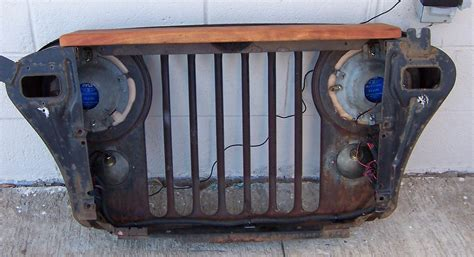jeep wall jeep grill wall decor home decorating ideas