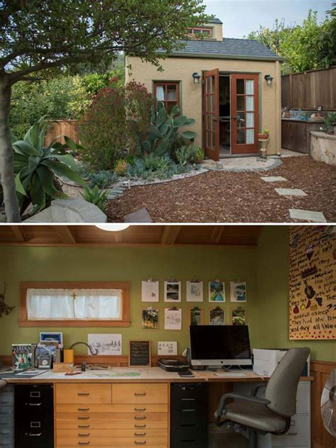 steps  convert  storage shed   dream home