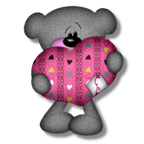 imagenes de corazones y osos dibujos de corazones con un oso imagui
