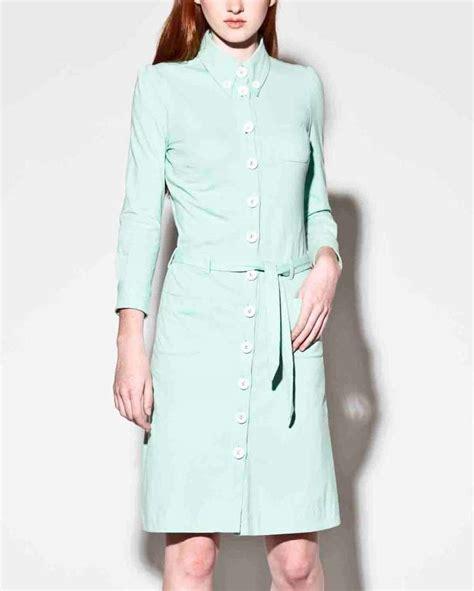 design history jersey knit belted dress moschino mint green jersey knit button up shirt dress at