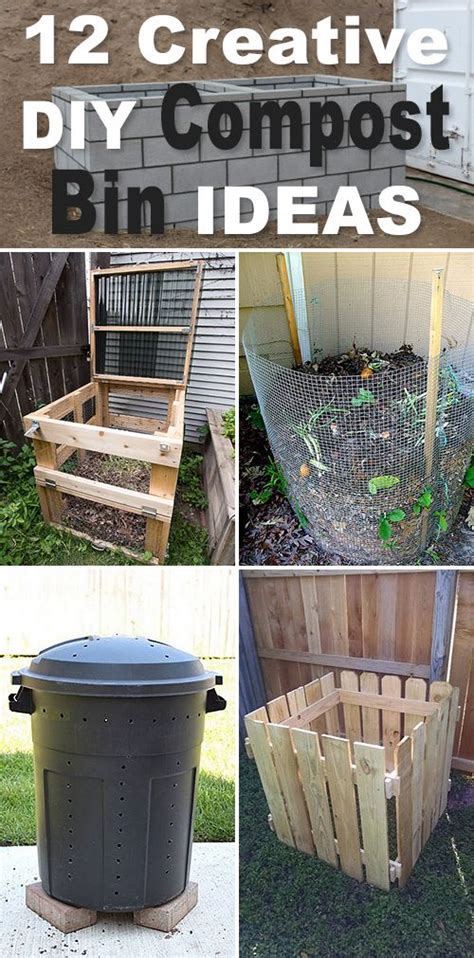 how to make compost for vegetable garden 25 best ideas about composting bins on