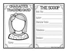 character card template 1000 ideas about character traits on