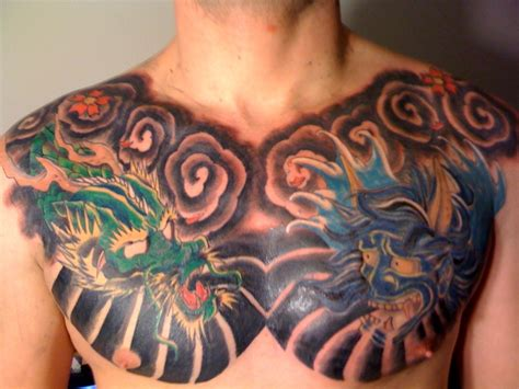 tattoo chest piece tatto chest tattoo photos images pictures