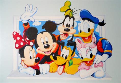 Mickey Mouse Wall Murals mickey mouse mural ivy bath