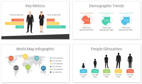 Demographic Powerpoint Template Presentationdeck Com Demographics Powerpoint Template