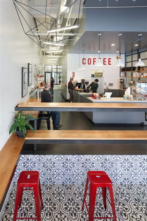 home design stores oakland before after a dated retail space to a modern coffee