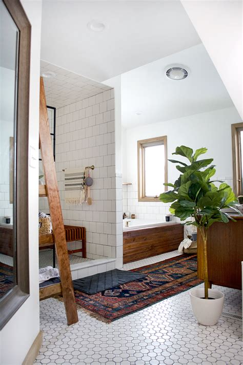 vintage bathroom rugs how to maintain a vintage rug in the bathroom brepurposed