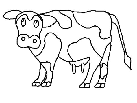 Cow Coloring Free Animal Coloring Pages Sheets Cow Color Coloring