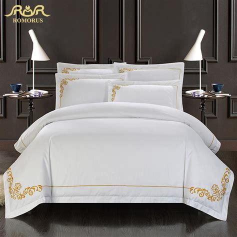 white silk bedding sets romorus 100 cotton tribute silk bedding set white