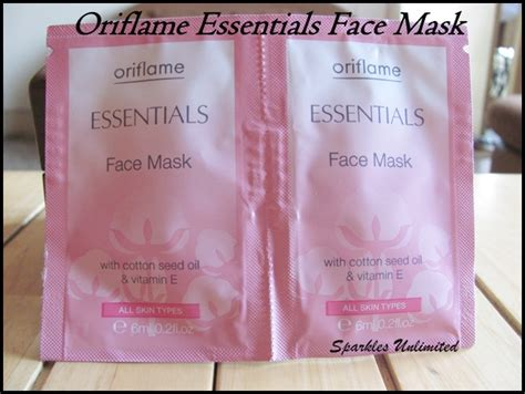 Masker Oriflame oriflame essentials mask review sparkles unlimited
