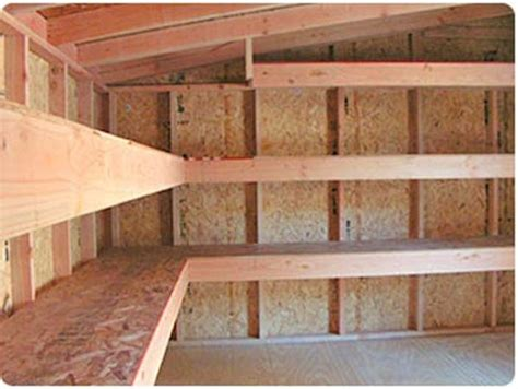 diy overhead garage storage shelf plans garage ideas