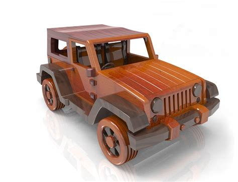 wooden jeep plans jeep wrangler wood plan for plan set email