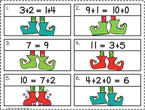 christmas math centers first grade math centers for grade math equation and math