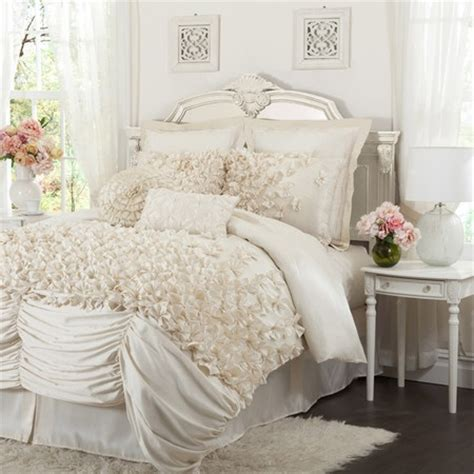 white comfort shabby chic comforter set wow look at that bedding
