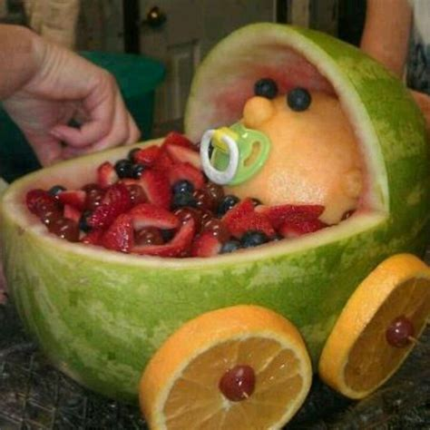 Watermelon Fruit Bowl Baby Shower by Baby Stroller Watermelon Fruit Bowl Ideas